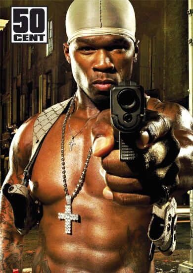 50 Cents Hollding A Gun