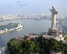 Brazil's Statue of White Jesus2